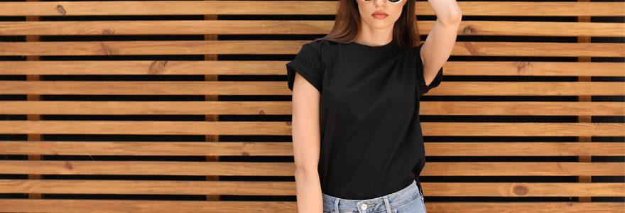 t-shirts chics pour femmes